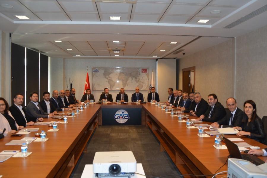 TİM Deri Ve Deri Mamulleri Sektör Kurulu Gaziantep'te Toplandı